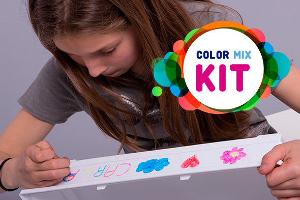 ><h5>Color mix Kit</h5><span>Lápices de colores</span>